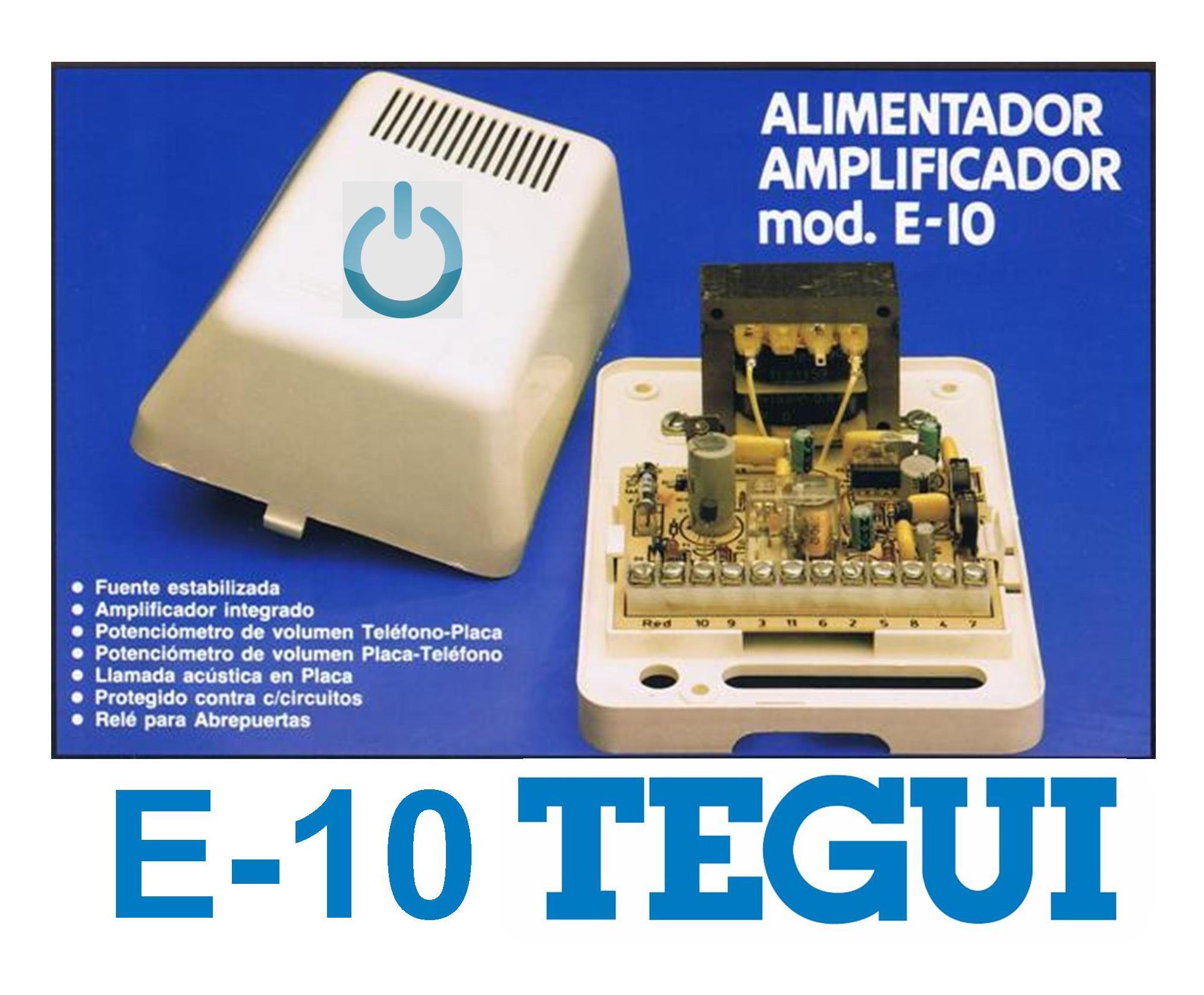 E-10 Un trozo de la historia de Tegui