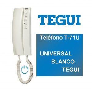 Un teléfono universal puede sustituir cualquier otro teléfono