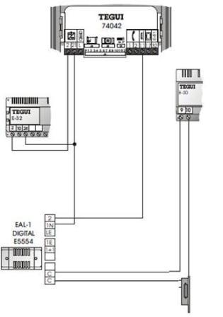 grupo fónico 74042 Tegui con abrepuertas especial