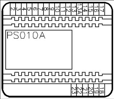 PS010A Alimentador Bticino