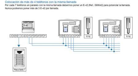 Ampliaci n de unidades interiores sistema convencional for Instalacion portero automatico tegui