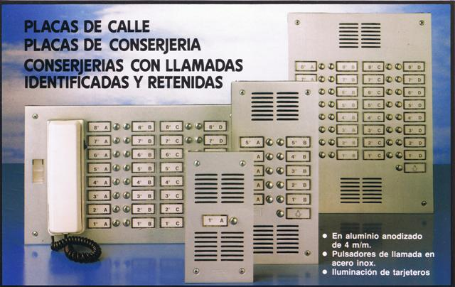 Gama Placas Standard Tegui