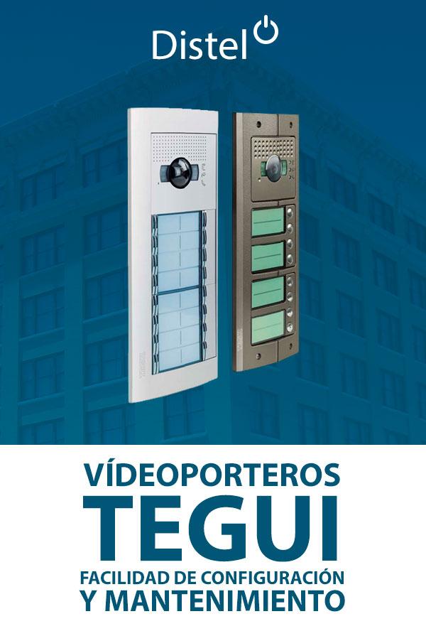 Videporteros TEGUI – Facilidad de configuración y mantenimiento