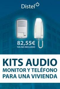 KITS Audio: Monitor y teléfono para una vivienda
