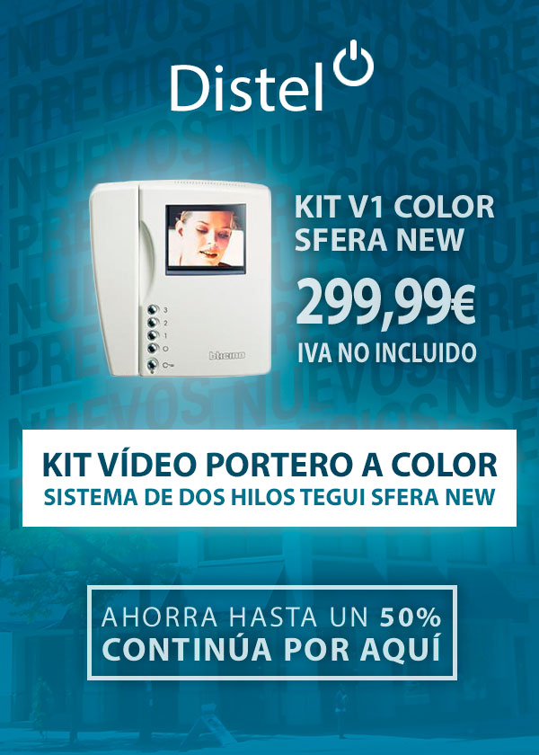 Kit vídeo portero a color