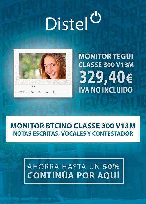 Monitor Btcino Classe 300 V13M