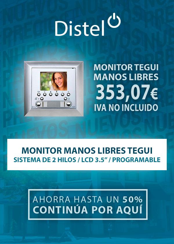 Monitor manos libres Tegui