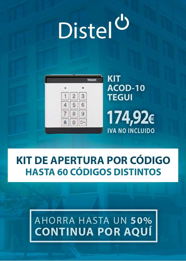 Kit de apertura con código