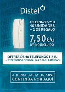 Oferta Teléfono T-71 U 40 unidades