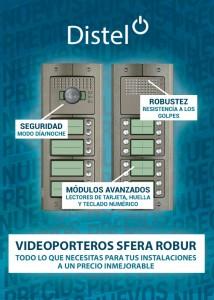 Videoporteros Sfera Robur