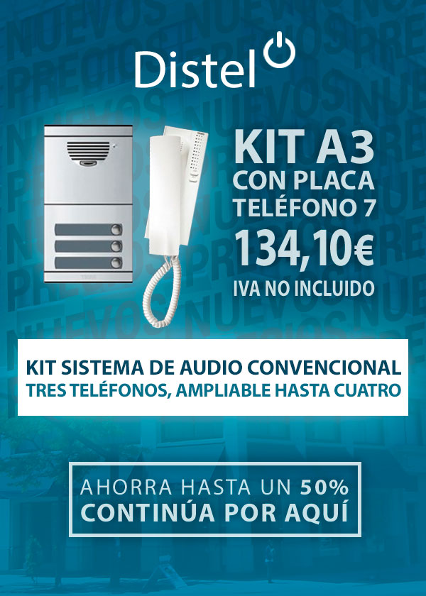 Kit sistema de audio convencional