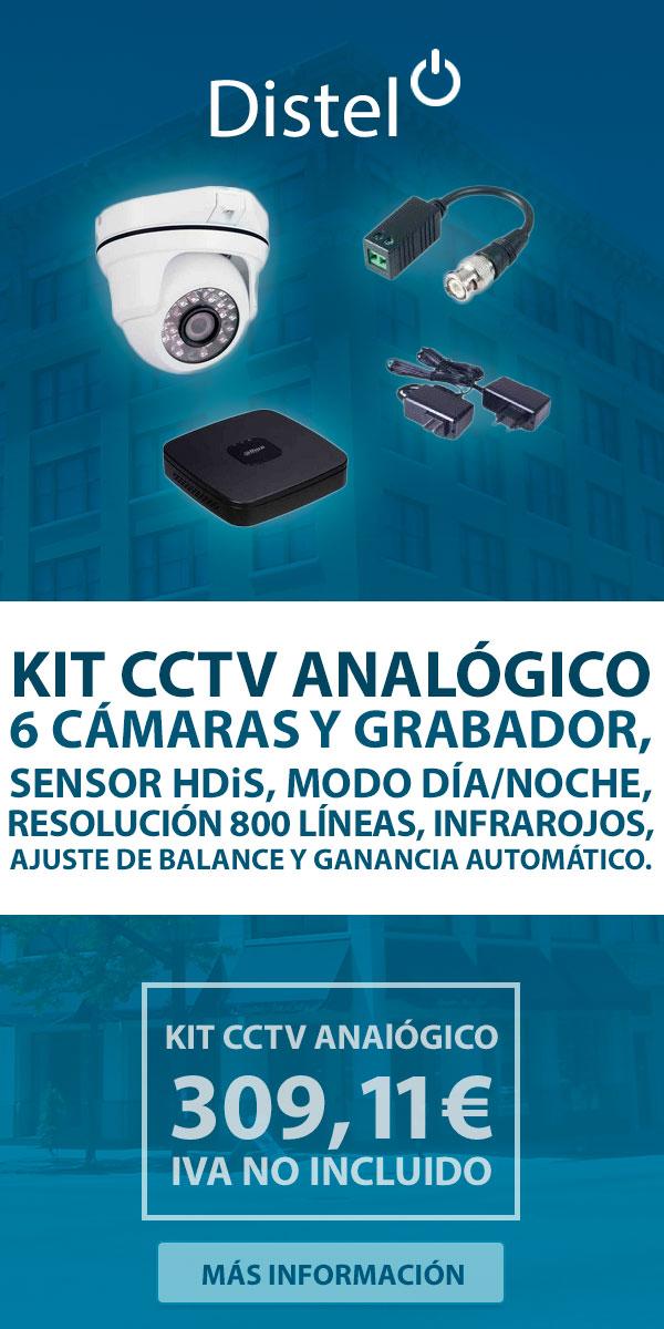 Kit CCTV analógico