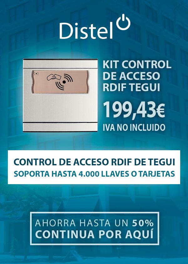 Control de acceso RDIF de Tegui