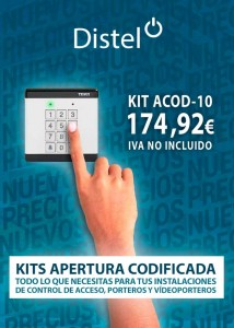 Kits apertura codificada