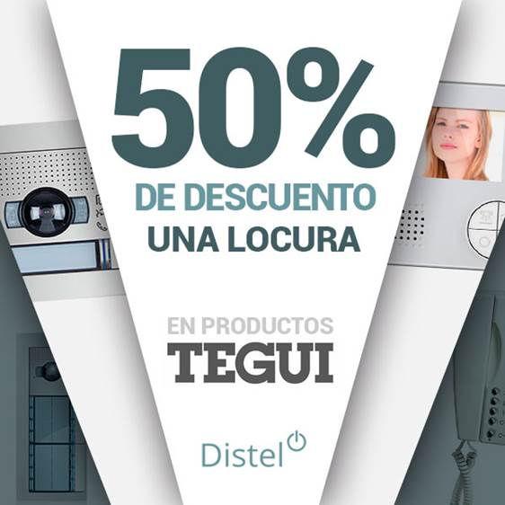 Consigue hasta un 50% de descuento en la gama Tegui