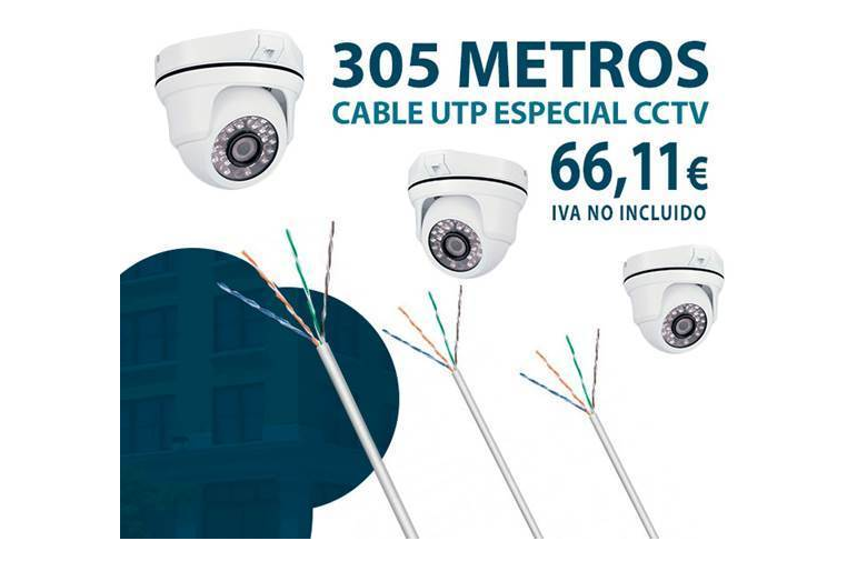 Cable UTP para instalaciones de CCTV