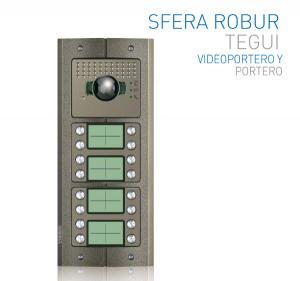 Videoporteros Sfera Robur: protección contra el vandalismo