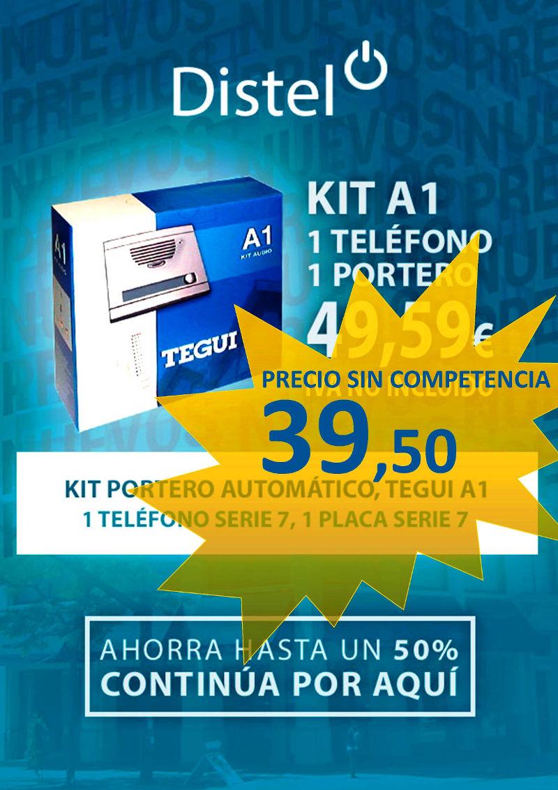 Kit a1 de tegui por solo 39 50 distel for Videoportero tegui precio