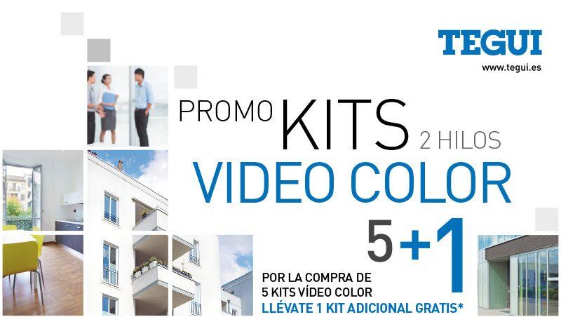 promo kits de videoporteros Tegui