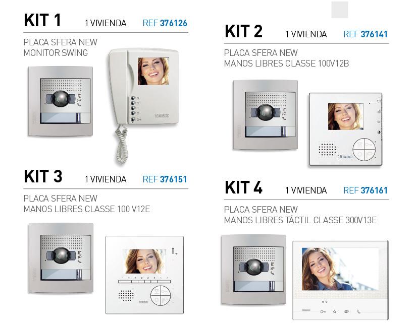 Kits de videoporteros Tegui promoción