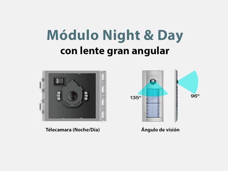 Módulo de telecámara día-noche de Tegui