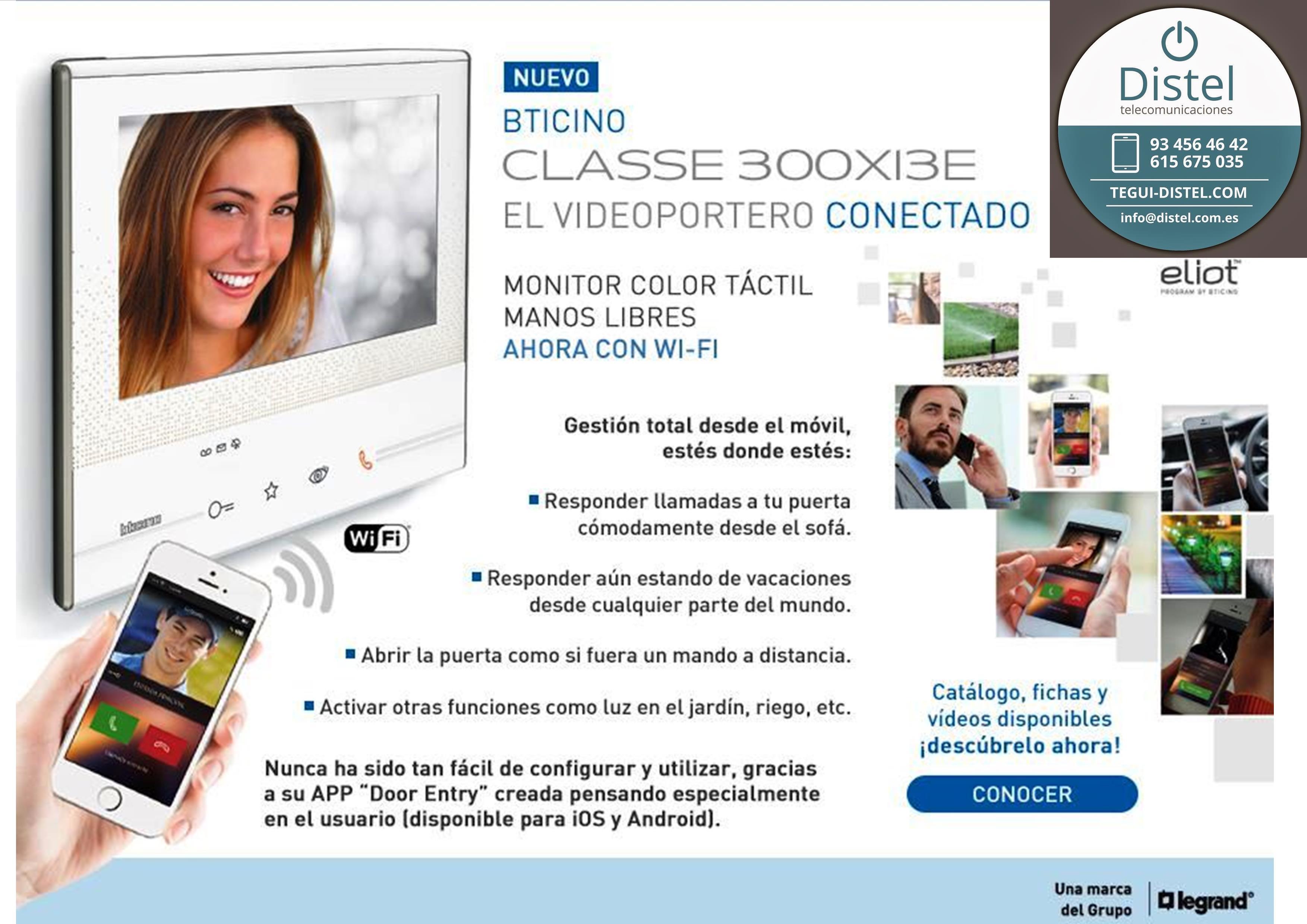 Probamos el monitor Classe 300 de Tegui Bticino