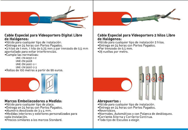 distel accesorios para videoportero