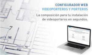 Configurador web de videoporteros y porteros Tegui.