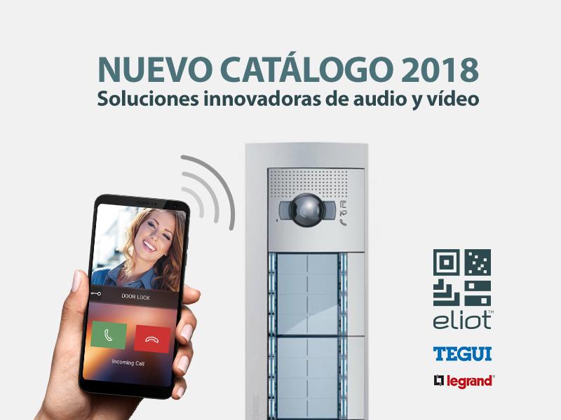 Nuevo Catalogo Tegui Legrand 2018
