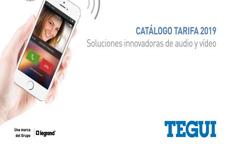 Nuevo catalogo Tegui Legrand 2019