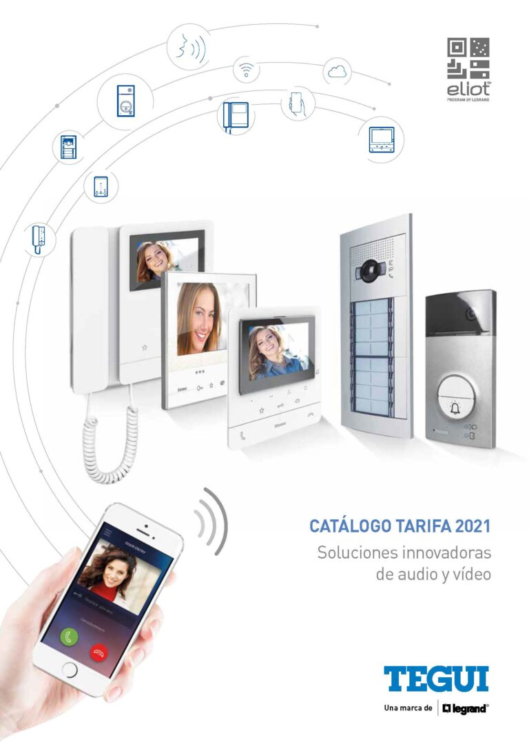 2021 Catalogo Tarifa Videoporteros Porteros Tegui